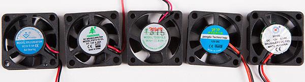 5 вентиляторов для 3D-принтера